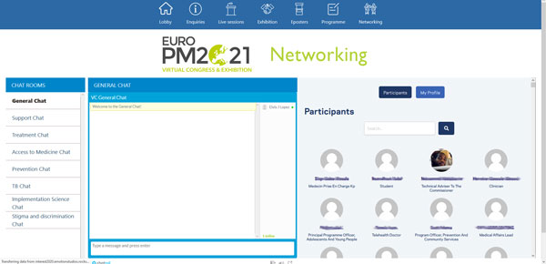Euro PM2021 Networking